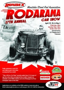 Rondex Winnipeg, MSRA, Rodarama, Annual Classic Car Sales Winnipeg